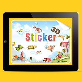 3D Sticker(iPad)